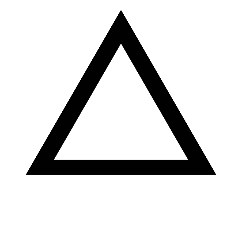 pensée triangle